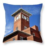 1910 Cigar Factory Throw Pillow
