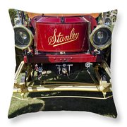 1910 Stanley Model 61 Throw Pillow