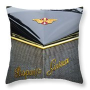1912 Hispano-suiza 15-45 Hp Alfonso Xiii Jaquot Torpedo Grille Throw Pillow