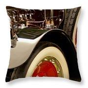 1919 Mcfarlan Type 125 Touring Engine Throw Pillow