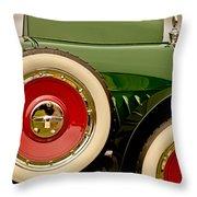 1919 Mcfarlan Type 125 Touring Throw Pillow