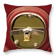 1919 Mcfarlan Type 125 Touring Spare Tire Throw Pillow