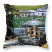 1919 Stutz Bearcat Special Engine Throw Pillow