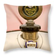 1921 Mercer Series 5 Raceabout Motometer Throw Pillow