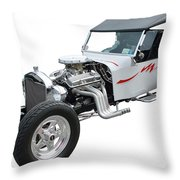 1923 T-bucket Ford Throw Pillow