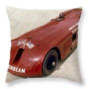 1927 Sunbeam Throw Pillow