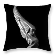 1928 Beautiful Lady Throw Pillow