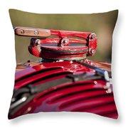 1929 Birkin Blower Bentley Hood Ornament Throw Pillow