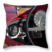 1929 Birkin Blower Bentley Throw Pillow