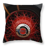 1929 Cord L-29 Detail - D008158 Throw Pillow by Daniel Dempster