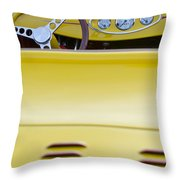 1929 Ford Model A Roadster Throw Pillow
