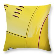 1929 Ford Model A Roadster Taillight Throw Pillow