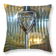 1929 Rolls-royce Phantom II Imperial Cabriolet Headlight Throw Pillow