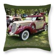 1930 Buick Throw Pillow