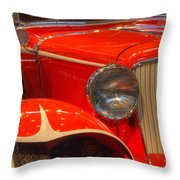 1931 Cord Automobile Throw Pillow