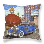 1931 Lincoln K Dietrich Phaeton Throw Pillow