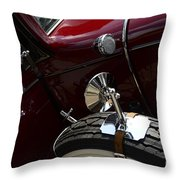 1932 Chevrolet Detail Throw Pillow