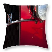1932 Ford Roadster Grille Throw Pillow