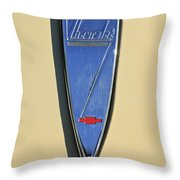 1933 Chevrolet Emblem Throw Pillow