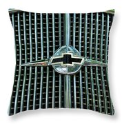 1934 Chevrolet Grill  Throw Pillow by Paul Ward