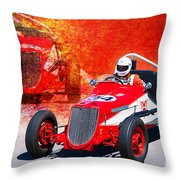 1934 Ford Indy Special Throw Pillow