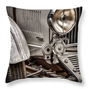 1935 Aston Martin Throw Pillow