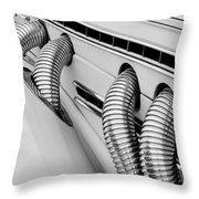 1935 Auburn Model 851 Supercharged Speedster Side Pipes Throw Pillow