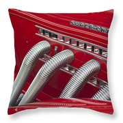 1935 Auburn Side Pipes Throw Pillow