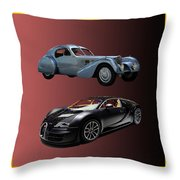 1936 Bugatti 2010 Bugatti Throw Pillow by Jack Pumphrey