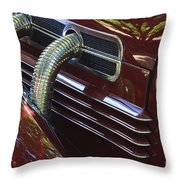 1936 Cord Throw Pillow