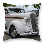 1936 Plymouth Throw Pillow