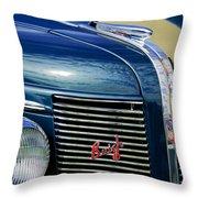 1937 Buick Hood Ornament Throw Pillow