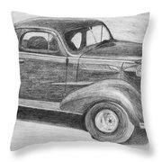 1937 Chevy Throw Pillow