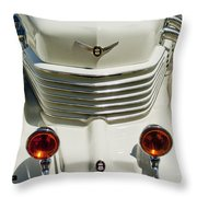 1937 Cord 812 Sc Phaeton Grille Throw Pillow