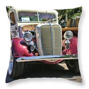 1937 Ford Throw Pillow