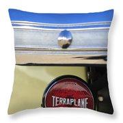 1937 Hudson Terraplane Pickup Truck Taillight Throw Pillow