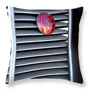 1937 Studebaker Grille Emblem Throw Pillow