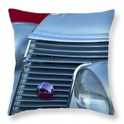 1937 Studebaker Grille Throw Pillow