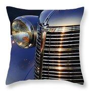 1938 Chevrolet Grille Throw Pillow