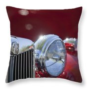 1938 Mg Ta Hood Ornament Throw Pillow