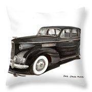 1939 Lasalle Sedan Classic Throw Pillow