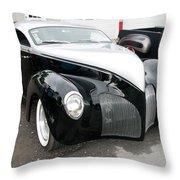 1939 Lincoln Zephyr  7680 Throw Pillow