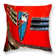 1940 Chevrolet Special Deluxe Throw Pillow