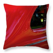 1940 Ford Coupe Side Window Throw Pillow