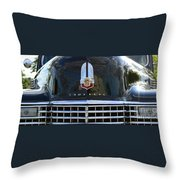 1941 Cadillac Grill Throw Pillow