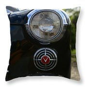 1941 Cadillac Headlight Throw Pillow
