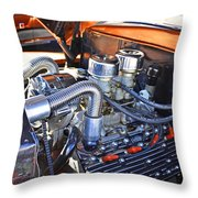 1941 Flathead Ford Throw Pillow