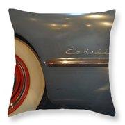1942 Cadillac - Series 62 Sedanette Fastback Throw Pillow