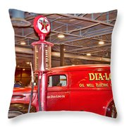 1942 Ford Ammunition Or Ambulance Truck Throw Pillow