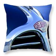 1947 Delahaye Hood Ornament Throw Pillow